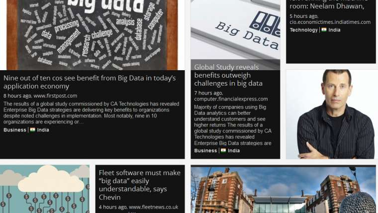 "reportbrain: Latest News Headlines for ""Big Data"" – June 17, 2015"