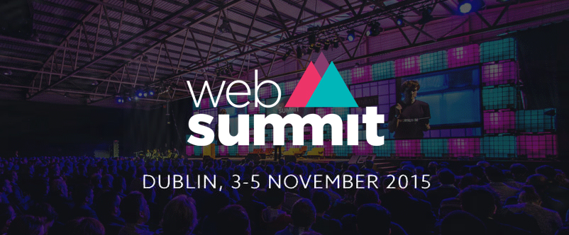 reportbrain among the few startups selected to exhibit at the Web Summit   2015 in Dublin!