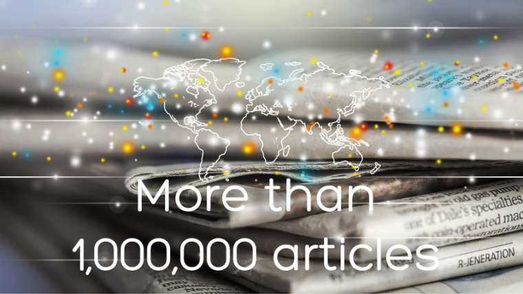 More than 1,000,000 articles read & understood daily!